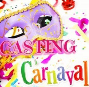 Casting pour le Carnaval de Paris