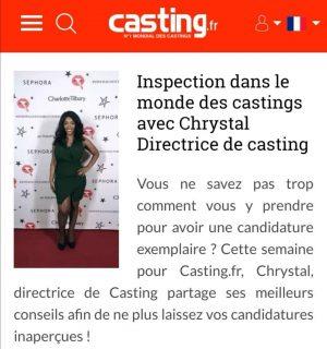 Interview de Christel Marcel sur Casting.fr